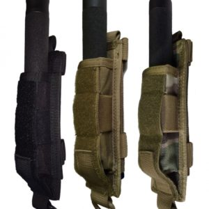Miles Tactical Baton and Flashlight Holder Molle Compatible